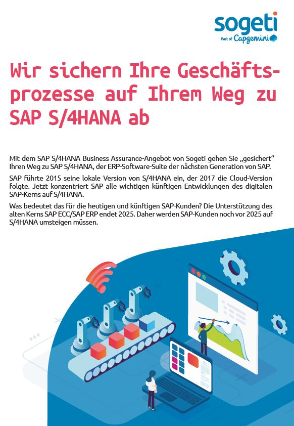 SAP S/4HANA Business Assurance