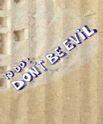 Cover Don't Be Evil